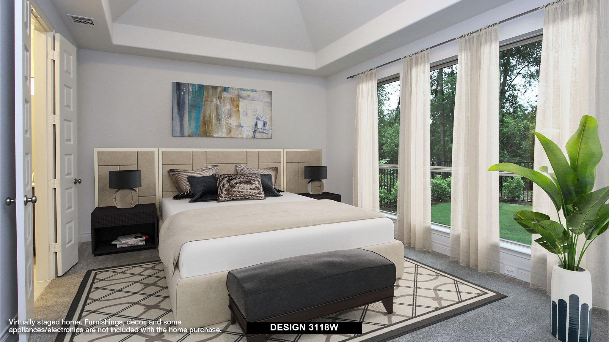 Bedroom featured in the 3118W By Perry Homes in Dallas, TX