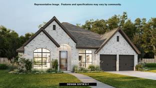 3257W - Reserve at Creekside 60': Denton, Texas - Perry Homes