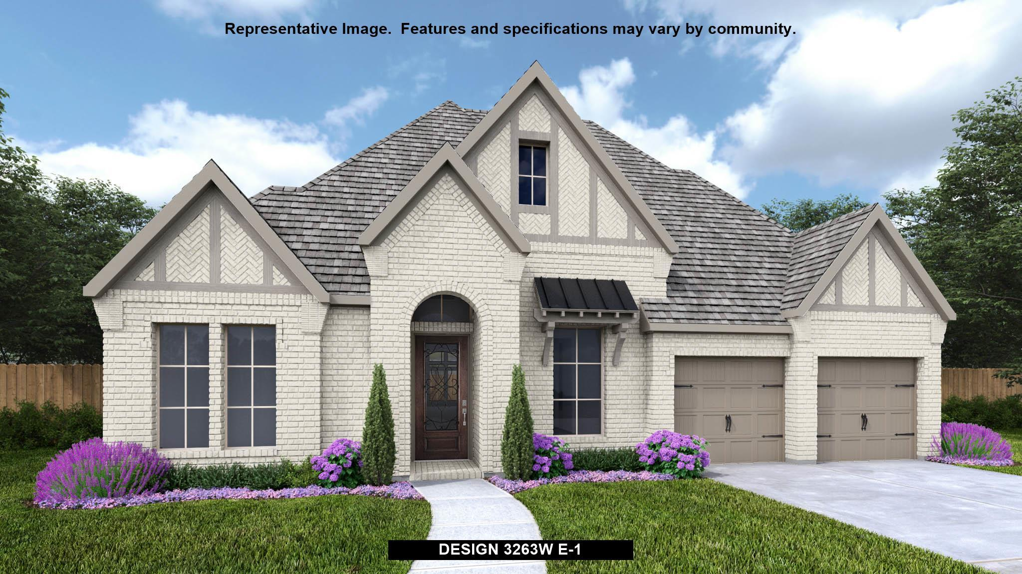 Exterior featured in the 3263W By Perry Homes in Austin, TX