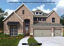 3393W - Rancho Sienna 60': Georgetown, Texas - Perry Homes