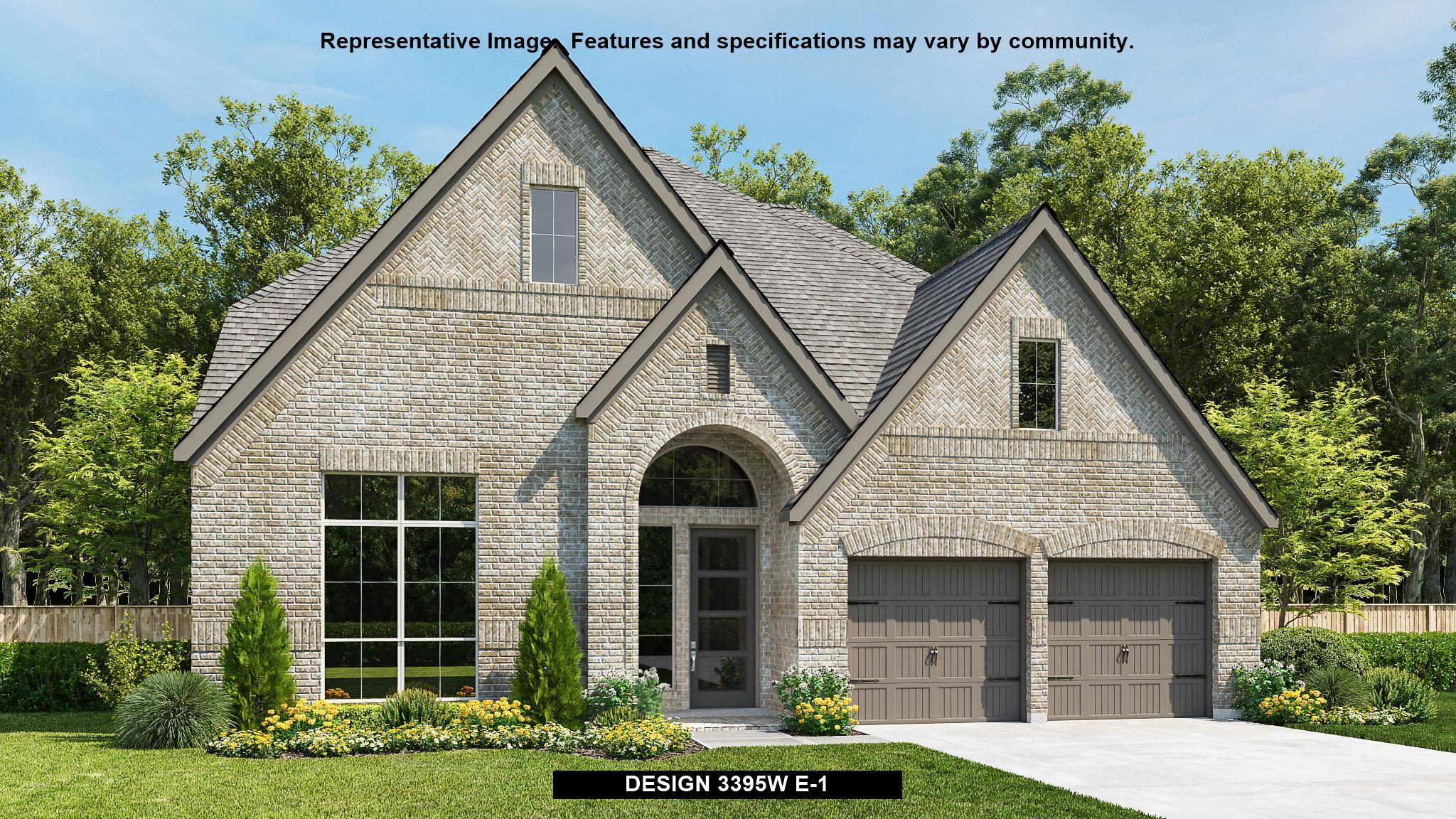 Exterior featured in the 3395W By Perry Homes in Austin, TX