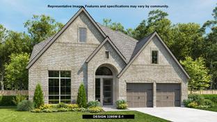 3395W - Homestead 65': Schertz, Texas - Perry Homes