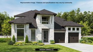 3395W - Elyson 55': Katy, Texas - Perry Homes