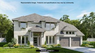 3398W - Harper's Preserve 60': Conroe, Texas - Perry Homes