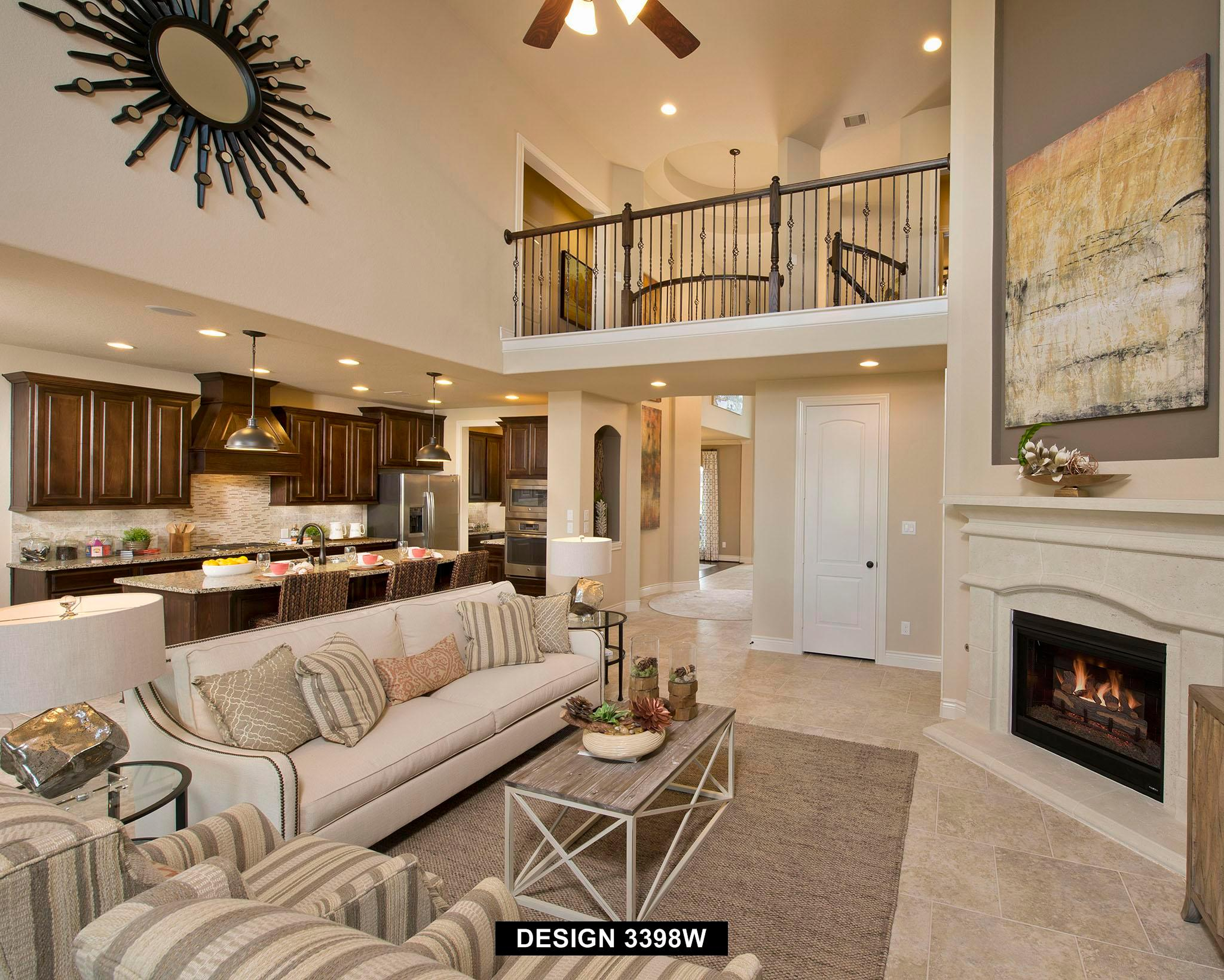 Living Area featured in the 3398W By Perry Homes in Houston, TX