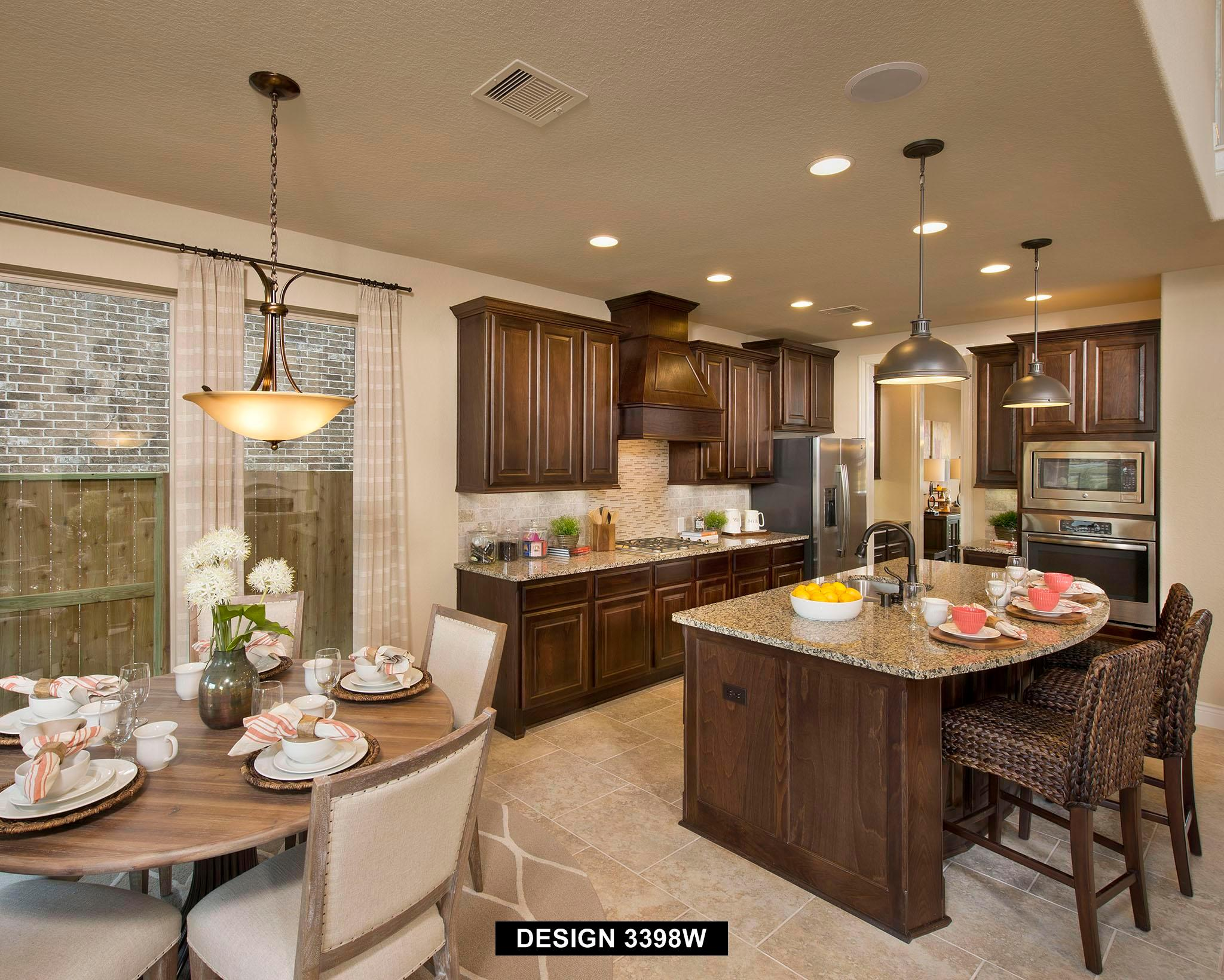 Kitchen featured in the 3398W By Perry Homes in Houston, TX
