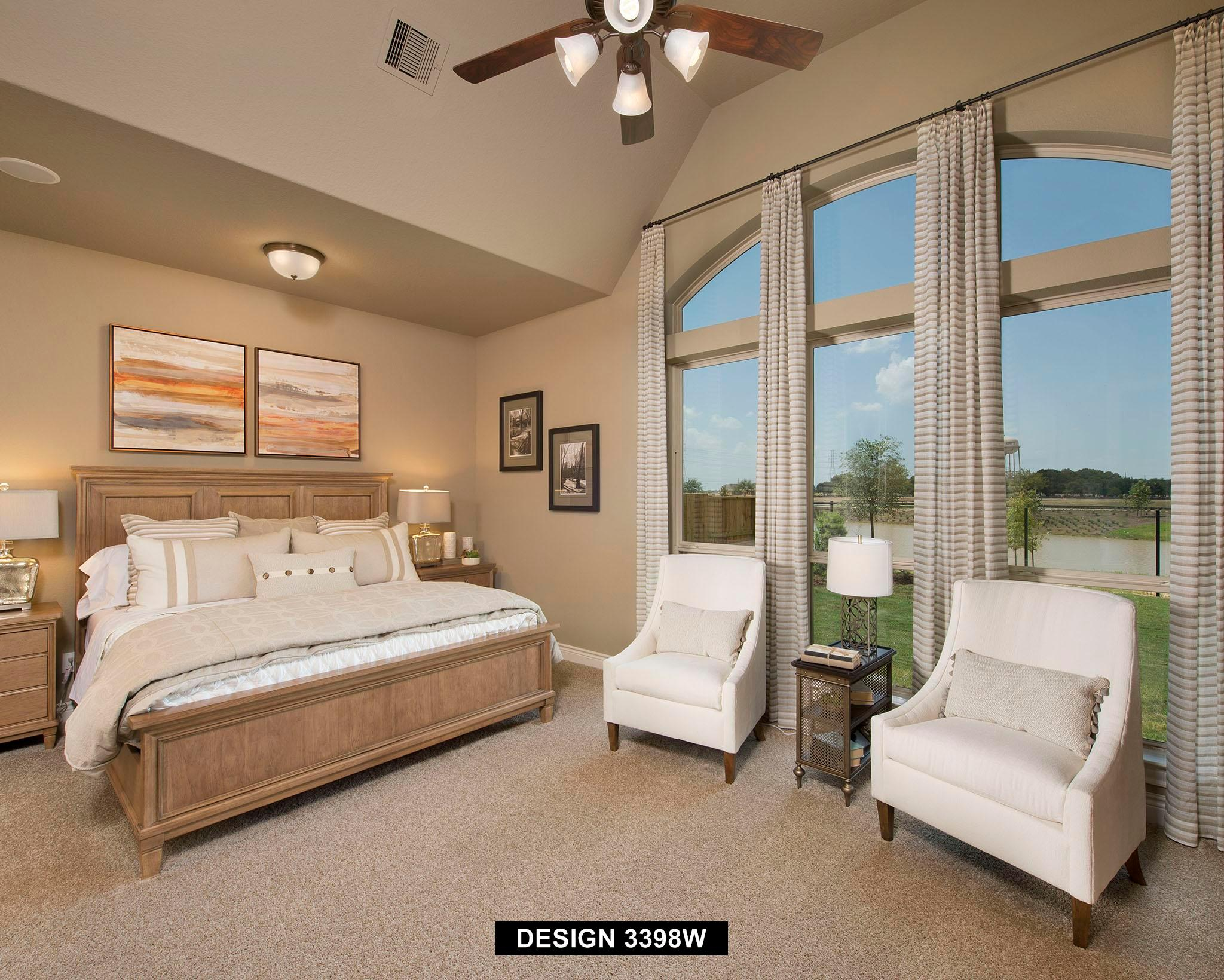 Bedroom featured in the 3398W By Perry Homes in Houston, TX
