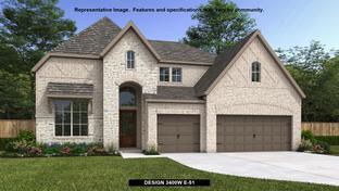 3400W - Kallison Ranch 60': San Antonio, Texas - Perry Homes