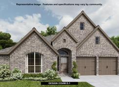 2354W - Homestead 65': Schertz, Texas - Perry Homes