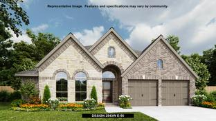 2543W - Tavola 55': New Caney, Texas - Perry Homes