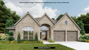 2622W - Devonshire - Reserve 60': Forney, Texas - Perry Homes