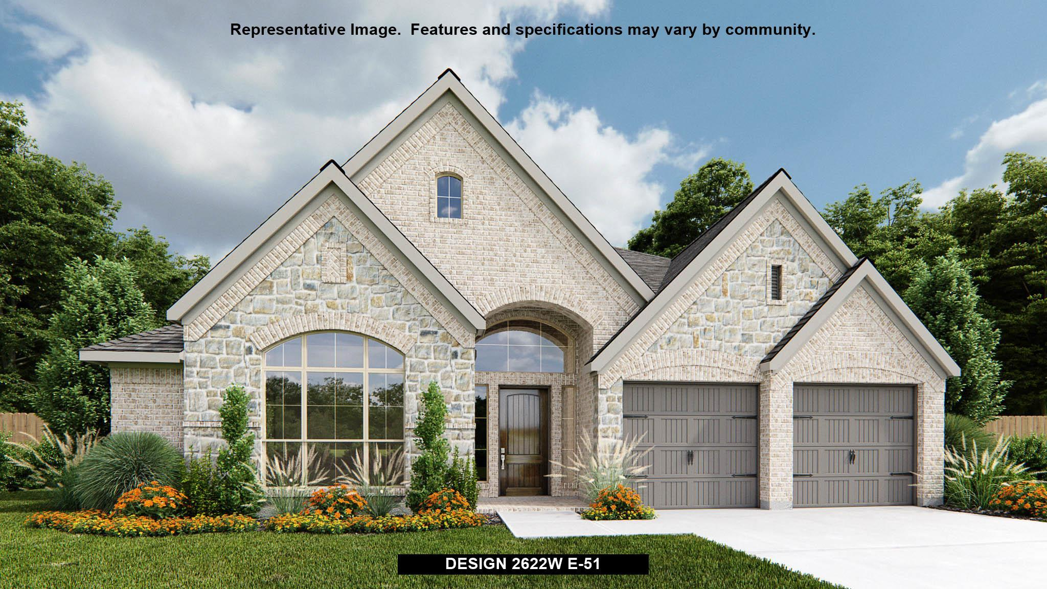 Exterior featured in the 2622W By Perry Homes in Dallas, TX