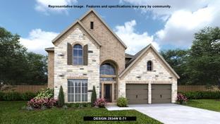 2934W - Villas of Somercrest 55': Midlothian, Texas - Perry Homes