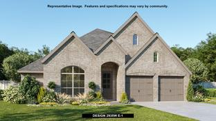 2935W - Cross Creek Ranch 55': Fulshear, Texas - Perry Homes