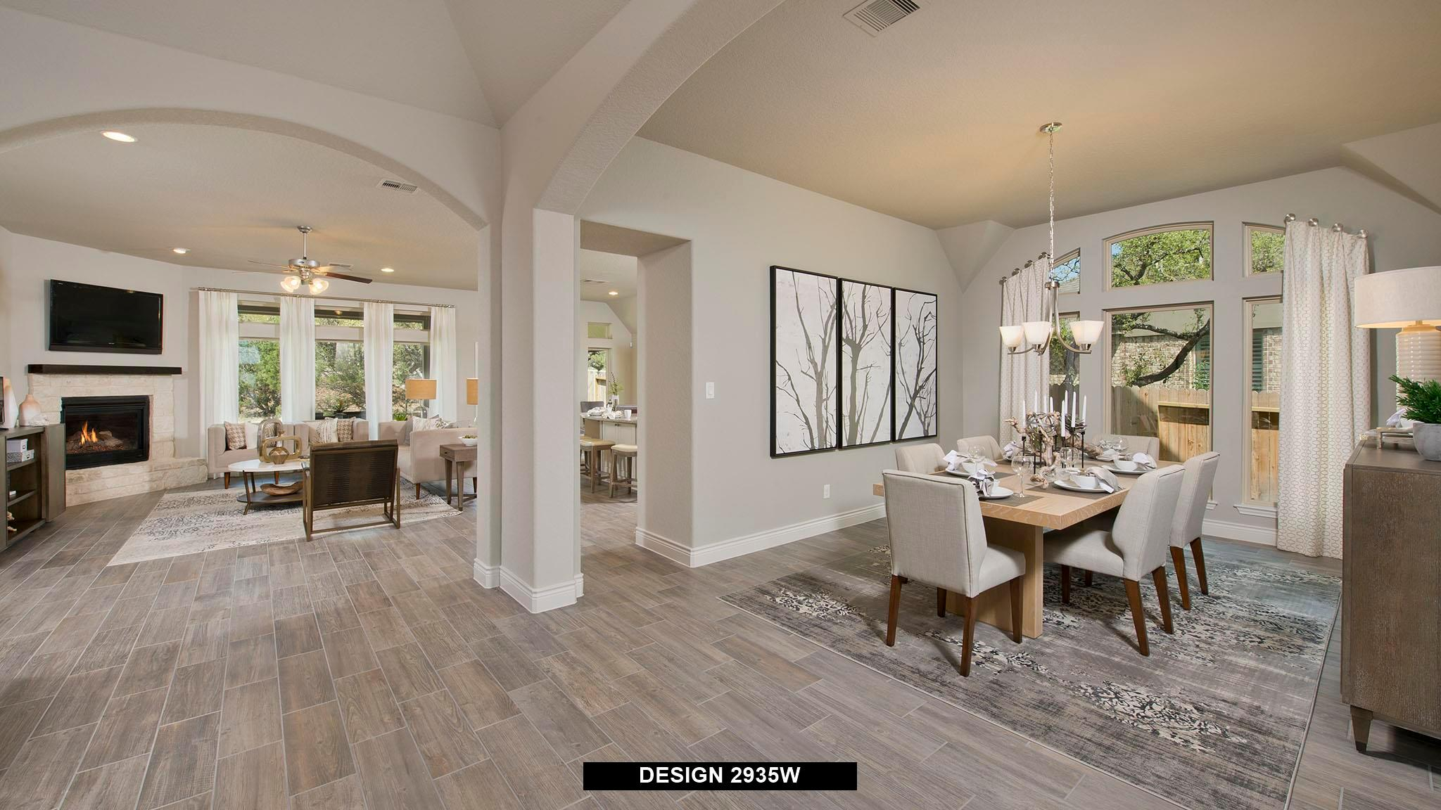 Living Area featured in the 2935W By Perry Homes in Austin, TX