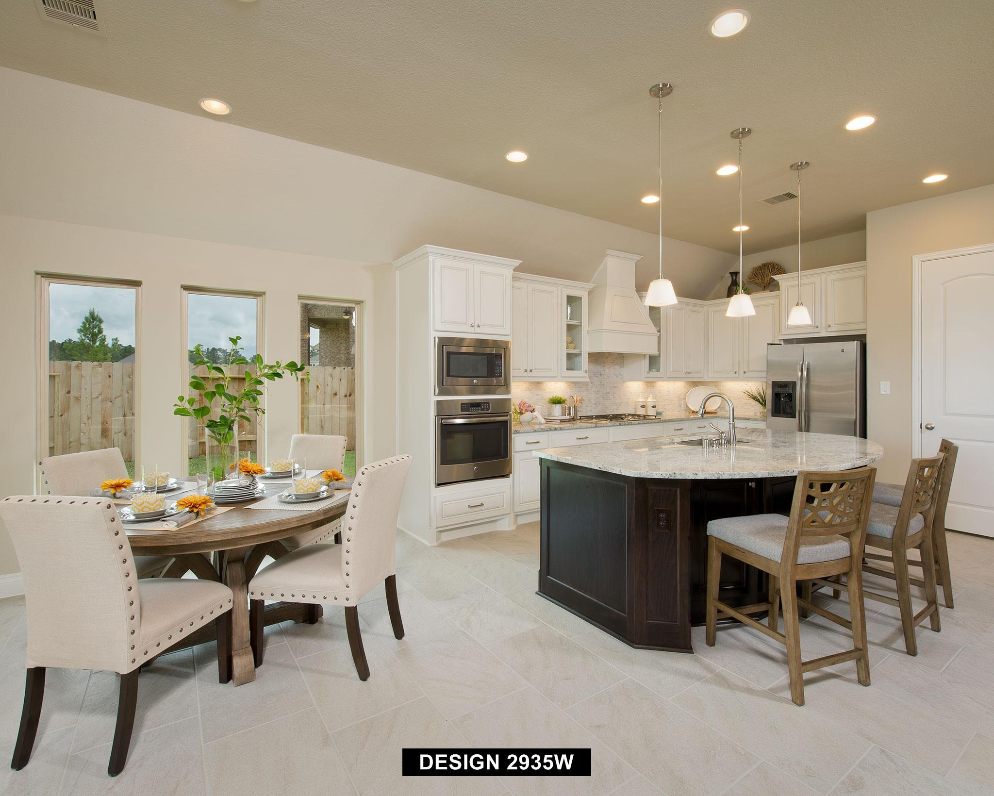 Kitchen featured in the 2935W By Perry Homes in Houston, TX