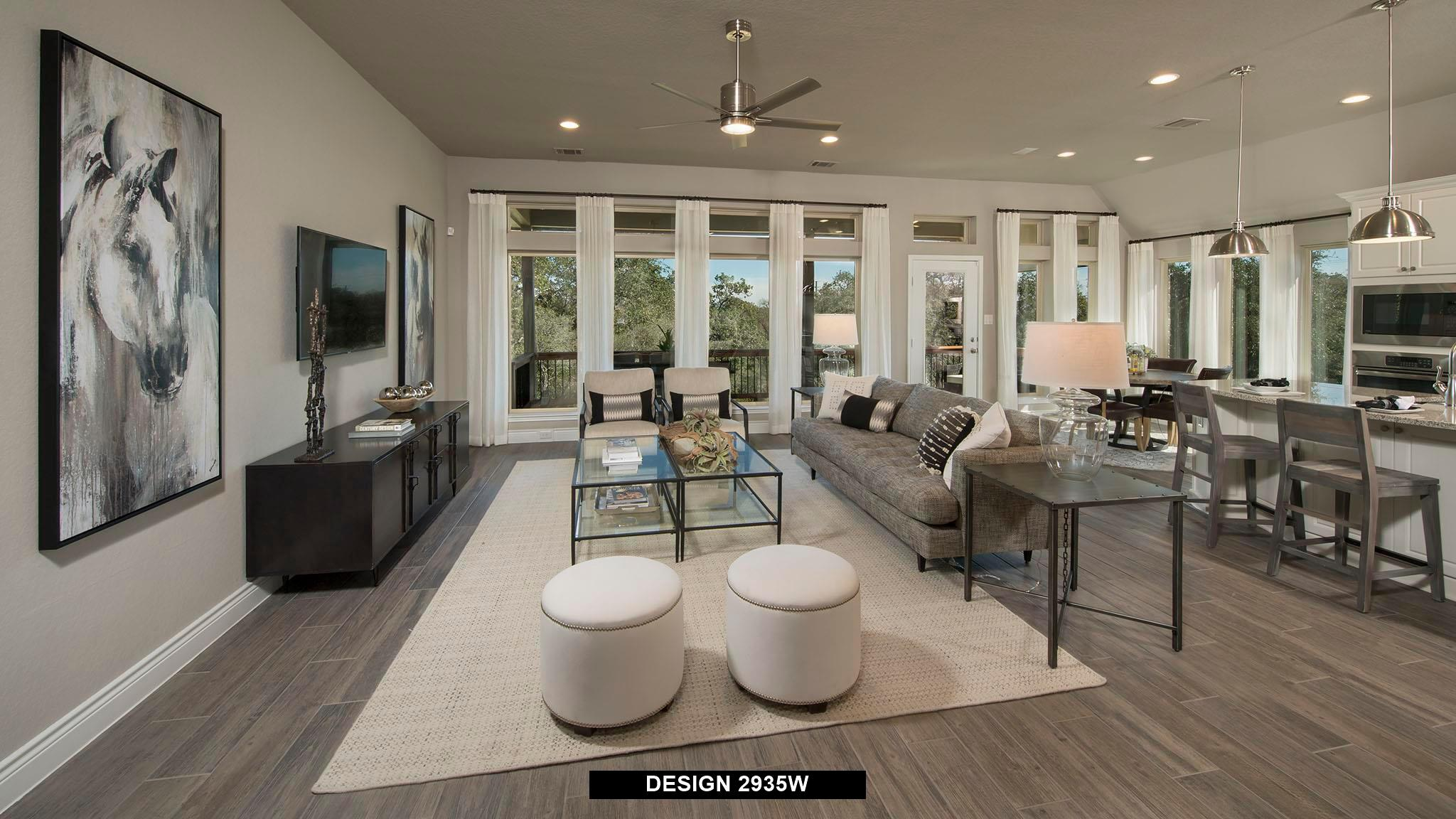 Living Area featured in the 2935W By Perry Homes in Houston, TX