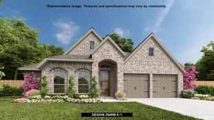 2949W - Bridgeland 55': Cypress, Texas - Perry Homes