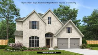3095W - Devonshire - Reserve 60': Forney, Texas - Perry Homes