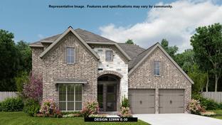 3299W - Pomona 55': Manvel, Texas - Perry Homes