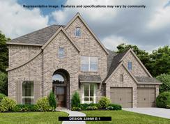 3394W - Harper's Preserve 60': Conroe, Texas - Perry Homes