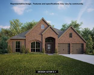3275W - Cross Creek Ranch 60': Fulshear, Texas - Perry Homes