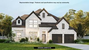 3399W - River Rock Ranch 60': San Antonio, Texas - Perry Homes