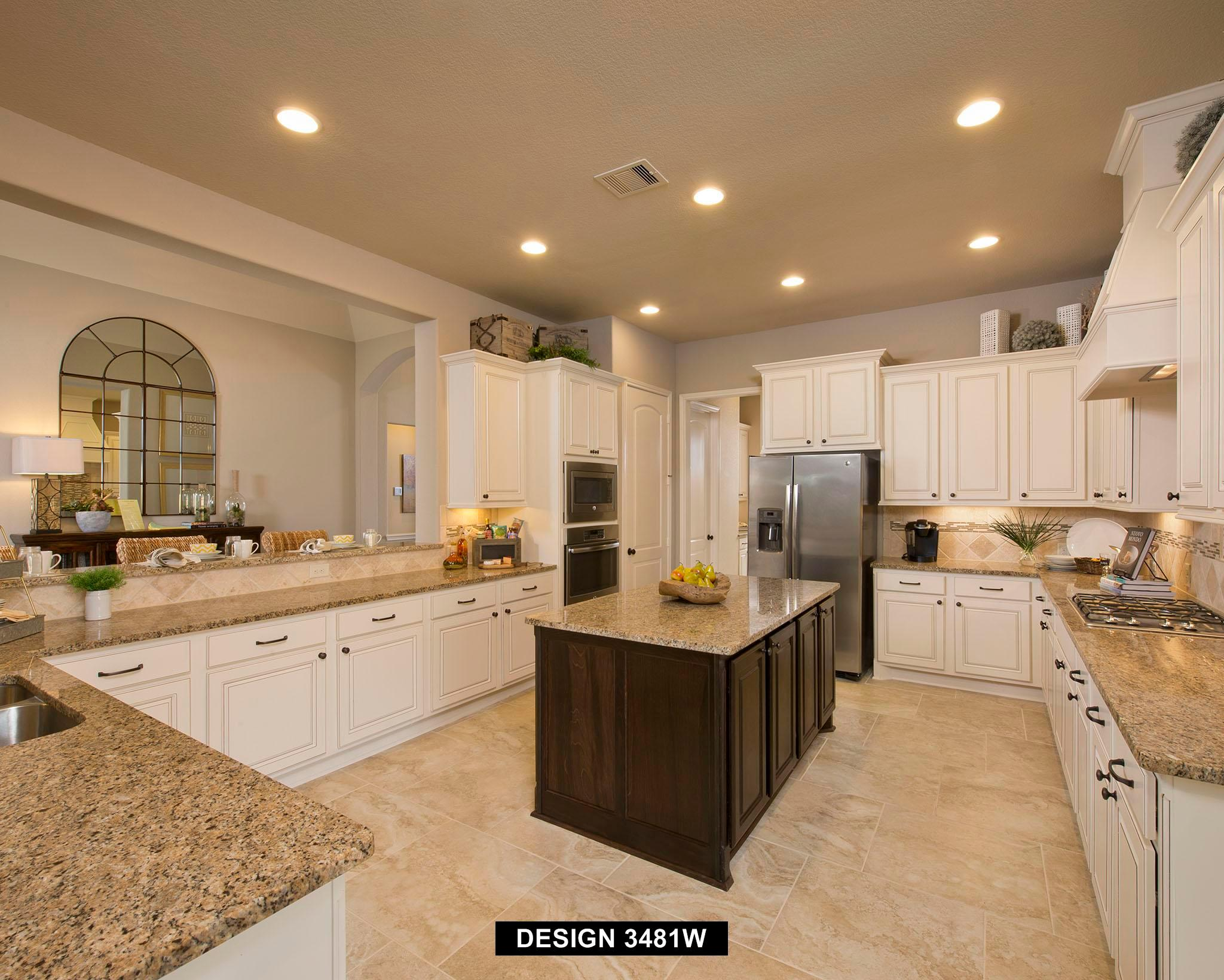 Kitchen featured in the 3481W By Perry Homes in Houston, TX
