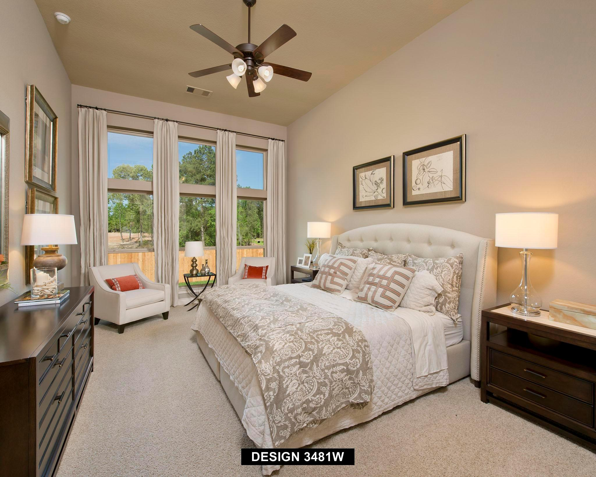 Bedroom featured in the 3481W By Perry Homes in Houston, TX