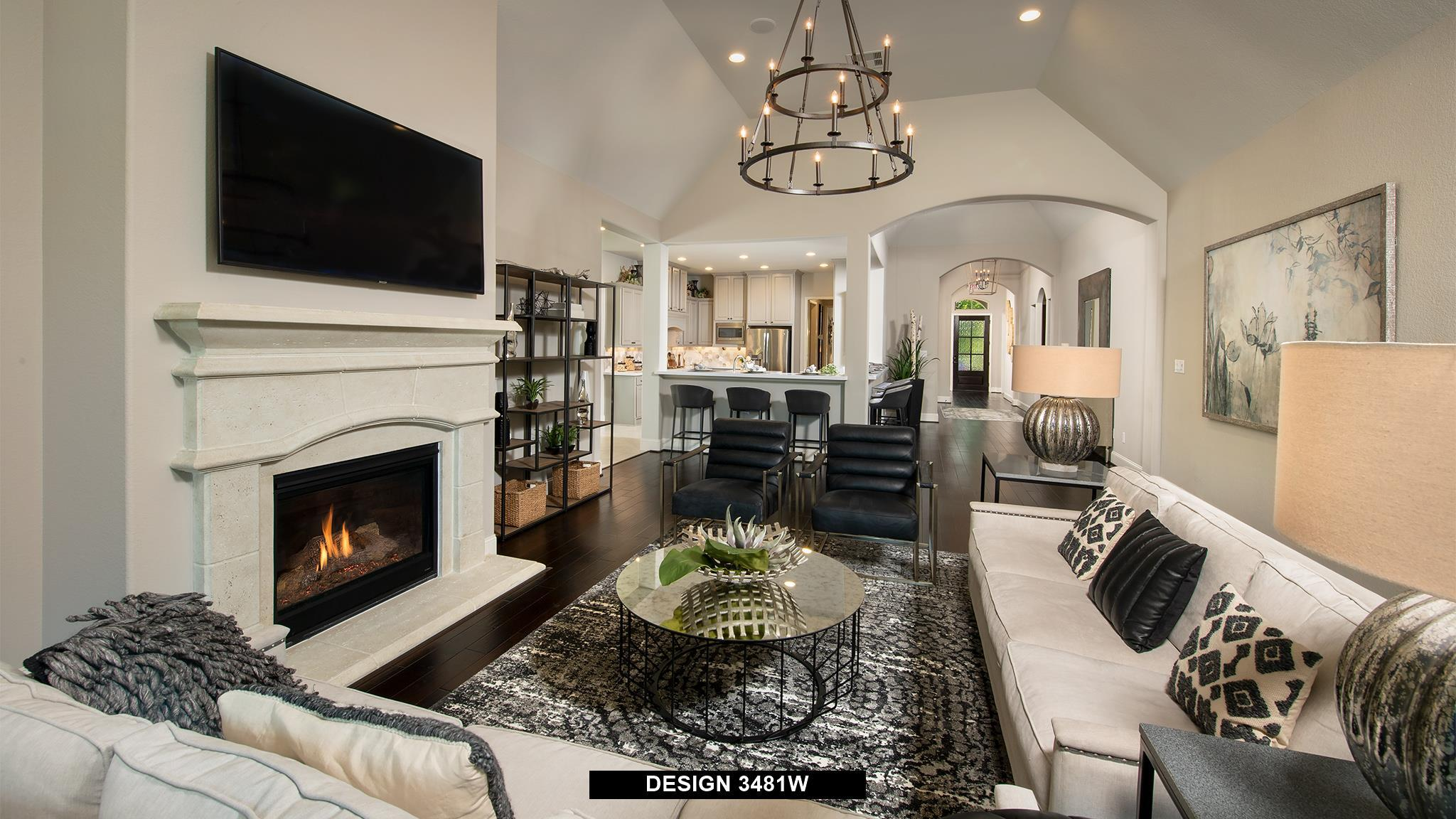 Living Area featured in the 3481W By Perry Homes in Houston, TX