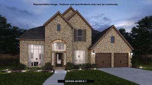 4016W - River Rock Ranch 60': San Antonio, Texas - Perry Homes