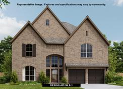 4051W - Firethorne 60': Katy, Texas - Perry Homes