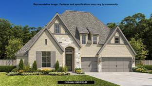 3295W - Cane Island 60': Katy, Texas - Perry Homes