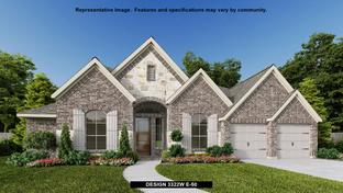 3322W - Cross Creek Ranch 65': Fulshear, Texas - Perry Homes