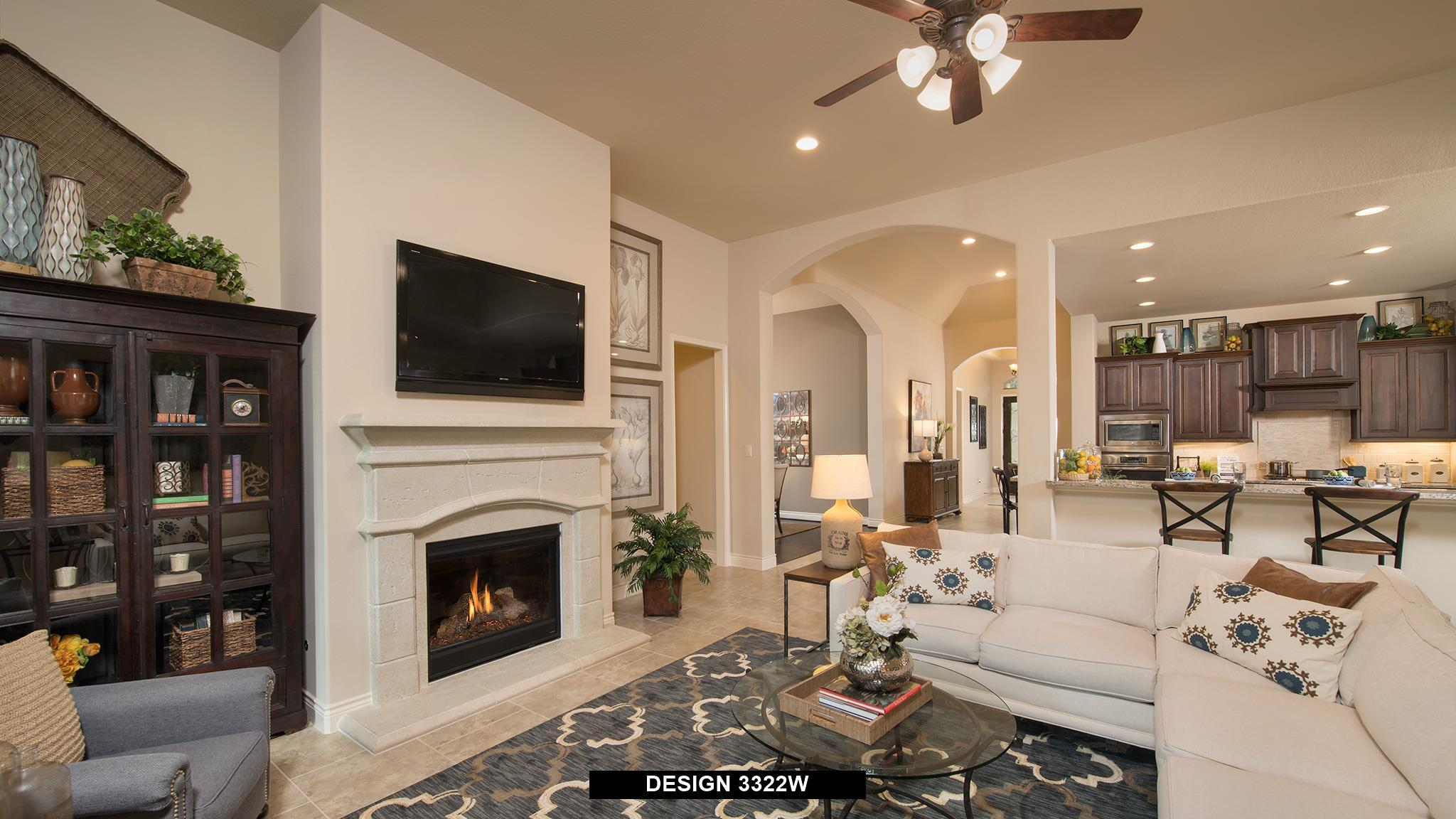 Living Area featured in the 3322W By Perry Homes in Austin, TX