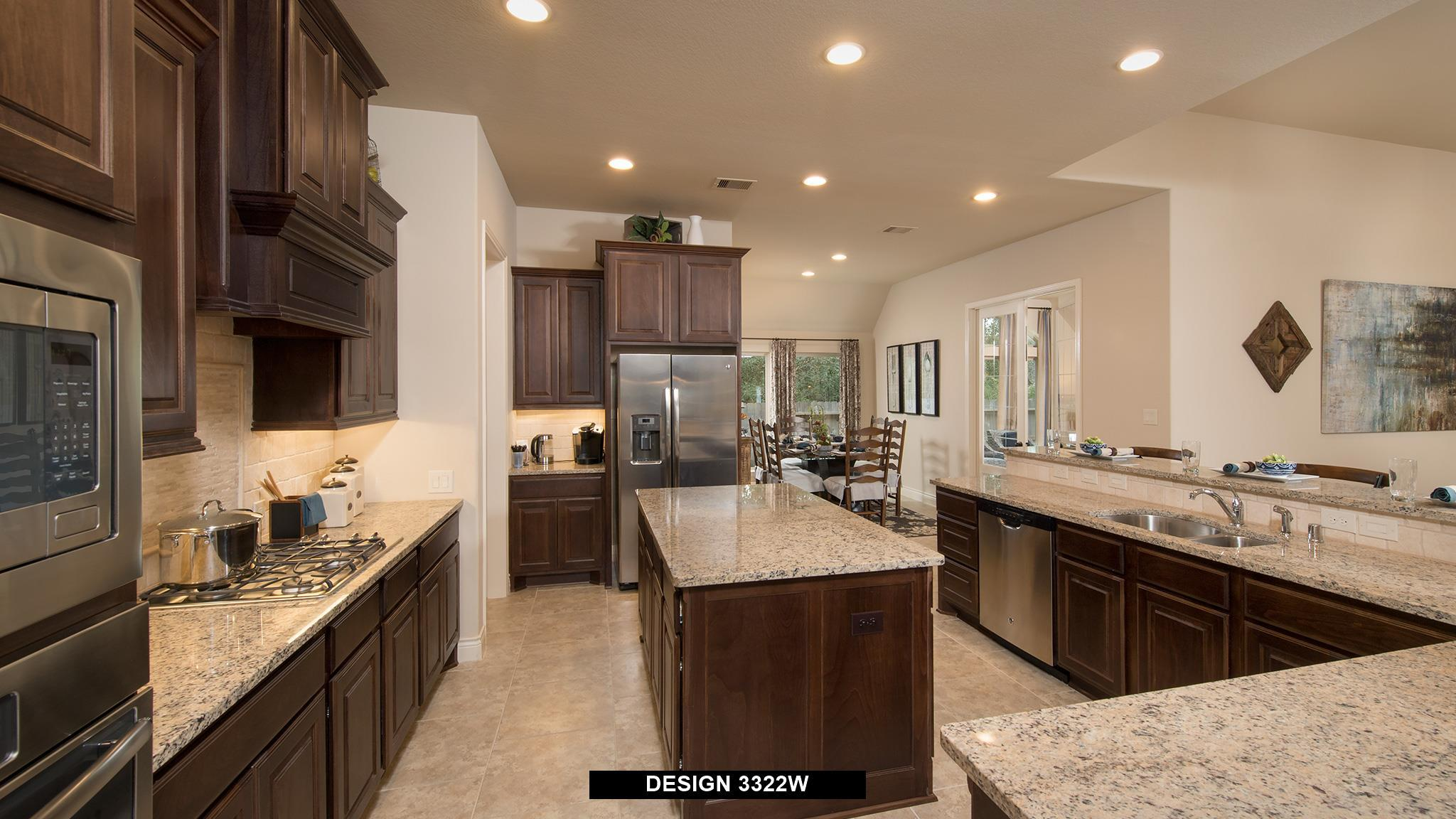 Kitchen featured in the 3322W By Perry Homes in Austin, TX