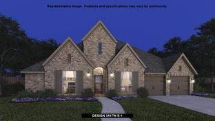 3417W - Tavola 65': New Caney, Texas - Perry Homes