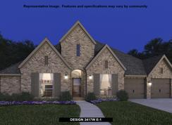 3417W - The Ranches at Creekside 65': Boerne, Texas - Perry Homes