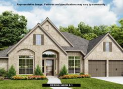 3465W - The Grove at Vintage Oaks 65': New Braunfels, Texas - Perry Homes