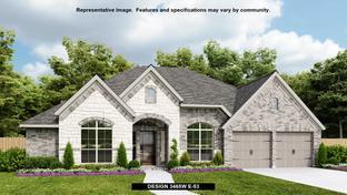 3465W - Cross Creek Ranch 65': Fulshear, Texas - Perry Homes