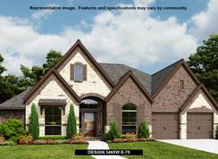 3465W - Tavola 65': New Caney, Texas - Perry Homes
