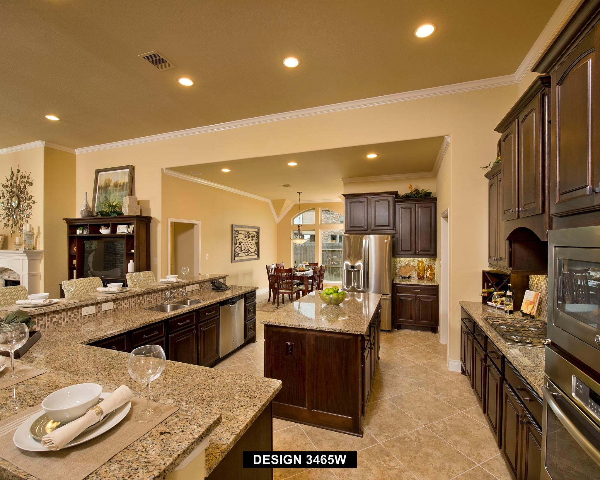 Kitchen featured in the 3465W By Perry Homes in San Antonio, TX