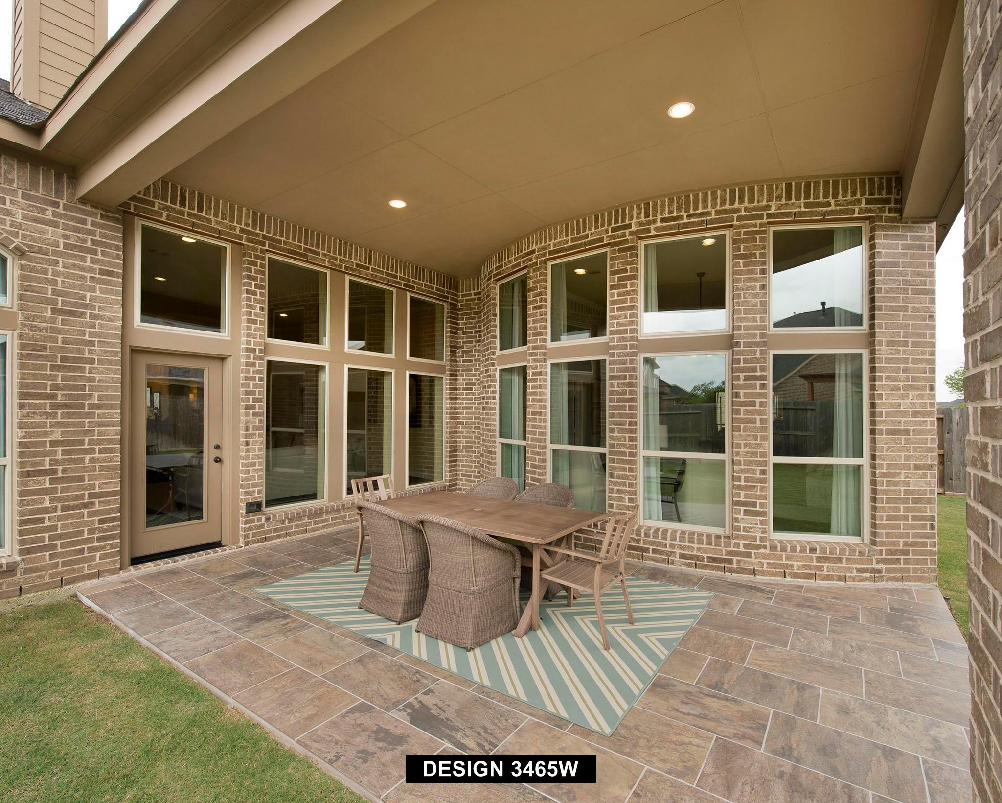 Exterior featured in the 3465W By Perry Homes in Houston, TX