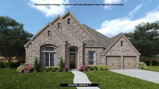 3468W - Jordan Ranch 65': Fulshear, Texas - Perry Homes