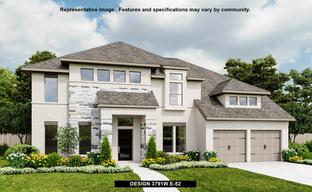 The Woodlands Hills 75' by Perry Homes in Houston Texas