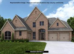 4097W - The Woodlands Hills 75': Willis, Texas - Perry Homes