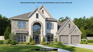 4098W - Cross Creek Ranch 65': Fulshear, Texas - Perry Homes