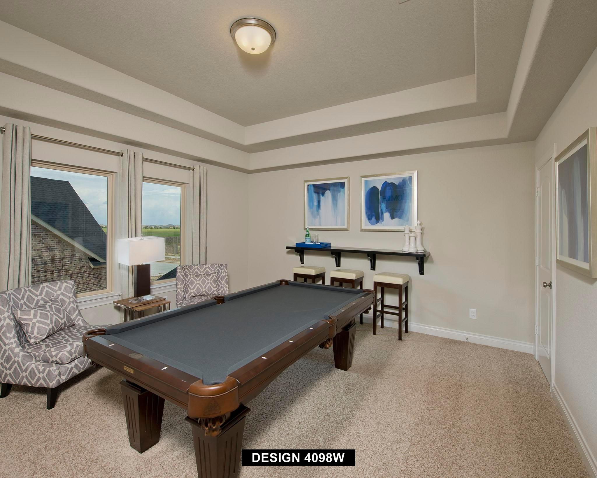 Living Area featured in the 4098W By Perry Homes in Houston, TX