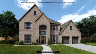 4099W - Cross Creek Ranch 65': Fulshear, Texas - Perry Homes