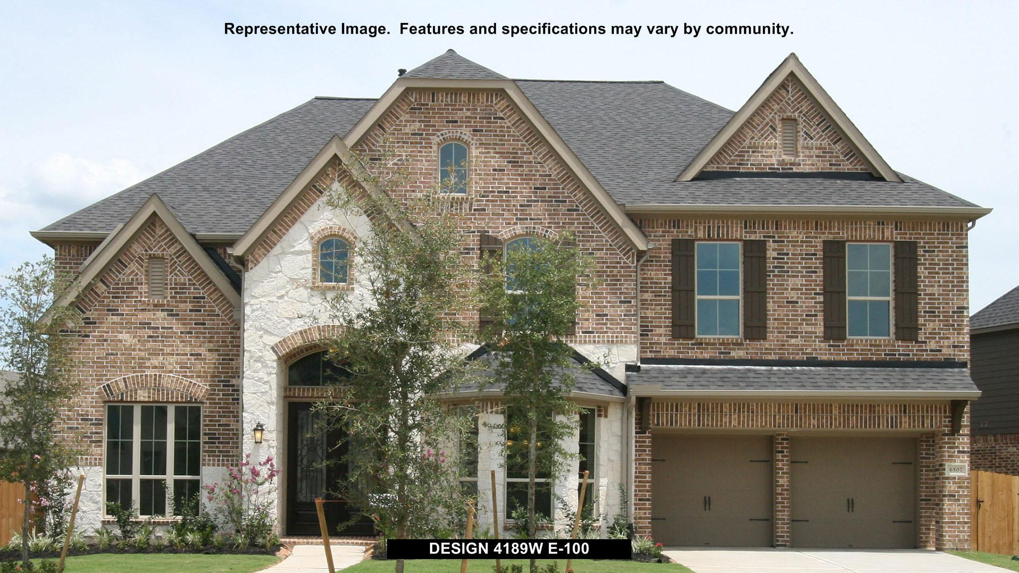 Exterior featured in the 4189W By Perry Homes in Houston, TX